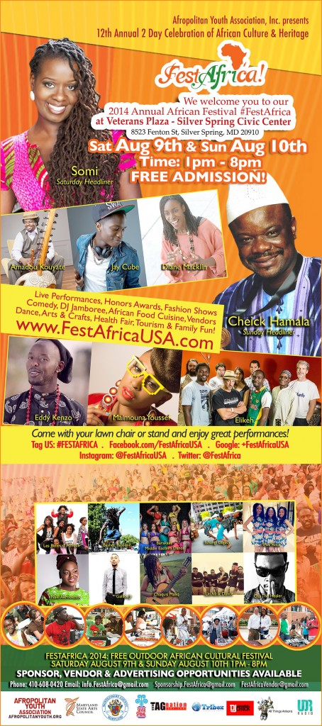 FestAfrica 2014_Afropolitan Youth African Festival Poster