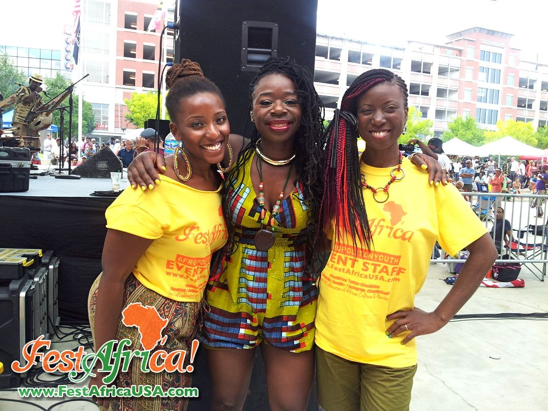 FestAfrica 2014 NYA AYA African Festival Veterans Plaza Silver Spring Maryland Afropolitan Youth – 006