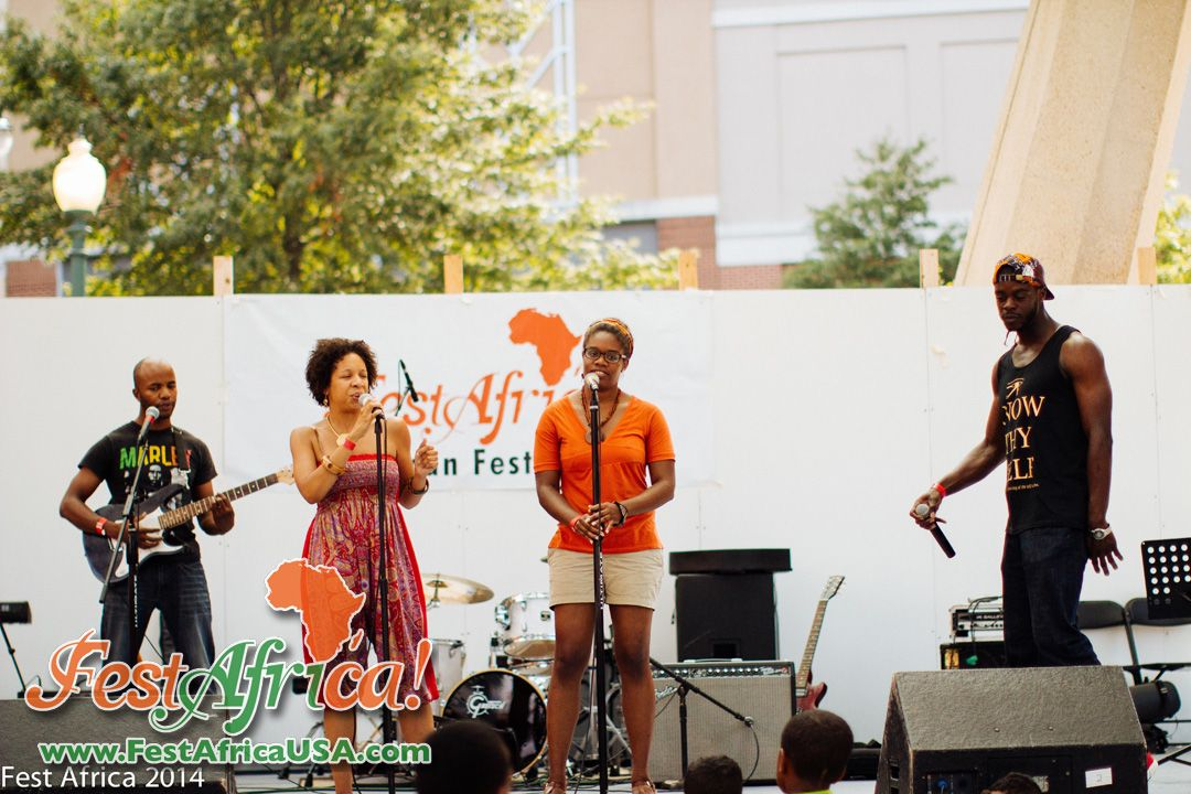 FestAfrica 2014 NYA AYA African Festival Veterans Plaza Silver Spring Maryland Afropolitan Youth – 274