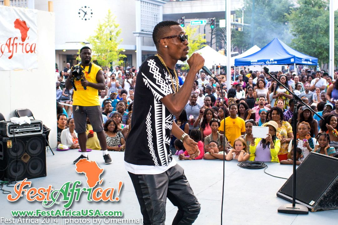 FestAfrica 2014 NYA AYA African Festival Veterans Plaza Silver Spring Maryland Afropolitan Youth – 325